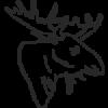 Elch-icon-braun-150x150